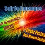 Invitation Groupe de Louange pour le 18 nov 2017
