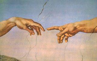 michelange-dieu et l'homme